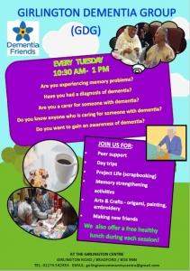 Girlington Dementia Group @ The Girlington Centre | England | United Kingdom