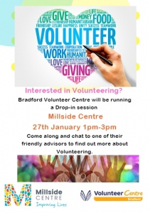 Bradford Volunteer Centre - Drop In Session