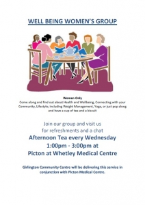 Well Being Women's Group - Wednesdays